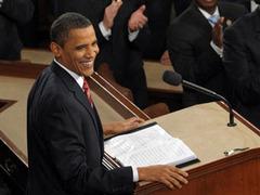 Американцы превратили обращение Обамы в повод выпить