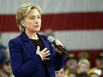 Хиллари Клинтон. Фото ©AFP