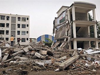 Последствия землетрясения в провинции Сычуань в мае 2008 года. Архивное фото ©AFP