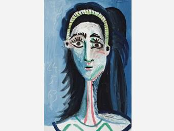 Портрет Пикассо продан на Christie's за 8,1 миллиона фунтов