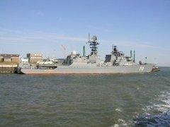 Российский сторожевик захватил судно с пиратами