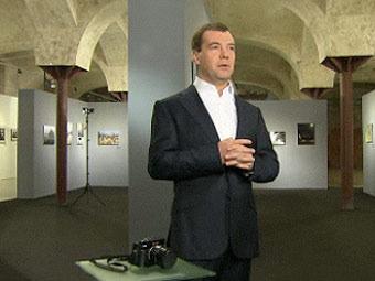 Статус президента помешал фотографу Медведеву