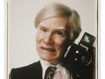 Автопортрет Энди Уорхола, сделанный на камеру Polaroid, фрагмент. Фото с allposters.com