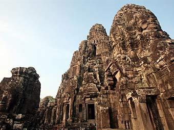 Вид на храм Байон. Фото ©AFP