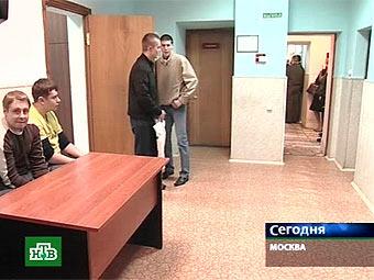 Призывники в военкомате. Кадр телеканала НТВ, архив