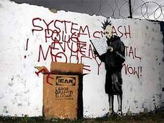 Бэнкси помешал продать свое граффити за 500 тысяч фунтов