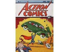 Экземпляр первого комикса о Супермене продан за миллион долларов