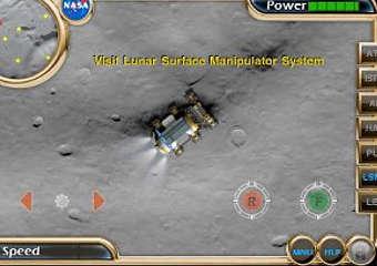 Скриншот  игры Nasa Lunar Electric Rover Simulator