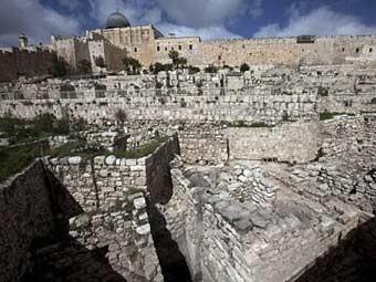 Район раскопок в Иерусалиме. Фото ©AFP