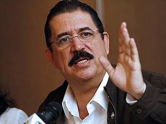 Гондурас выдал ордер на арест свергнутого президента