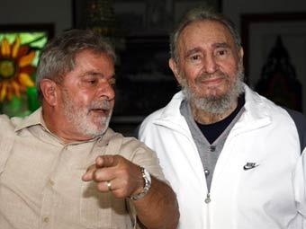 Президент Бразилии рассказал о великолепном здоровье Фиделя Кастро