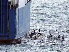 В Аденском заливе пираты захватили индийский сухогруз