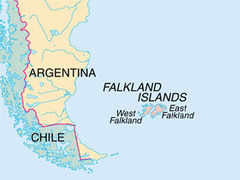 Вашингтон отказался признать британский суверенитет над Фолклендами