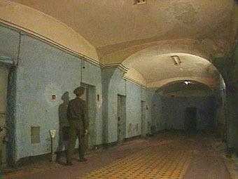 Один из российских следственных изоляторов. Архивный кадр НТВ