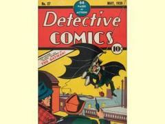 Первый комикс о Бэтмане установил рекорд цены на аукционе