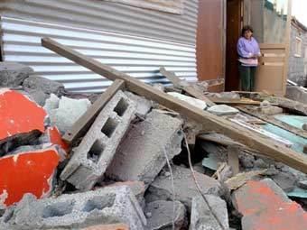 Последствия землетрясения в Чили. Архивное фото ©AFP