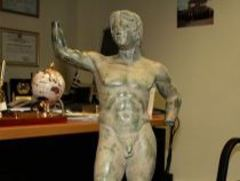 Греческая полиция арестовала торговцев античными скульптурами