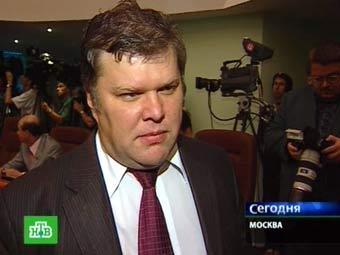 Сергей Митрохин. Кадр телеканала НТВ, архив