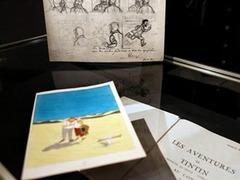 В Париже распродадут редкие рисунки создателя Тантана