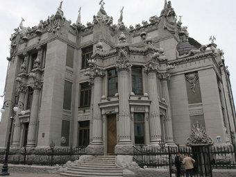 Киевский дом с химерами дал трещину