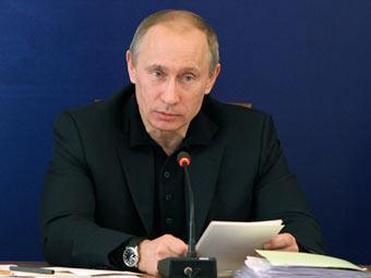 Владимир Путин на совещании в Хакасии. Фото с сайта premier.gov.ru