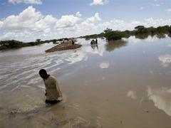 В Кении любителей сафари спасали вертолетами