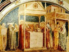 Ультрафиолет позволил ученым разглядеть фрески Джотто