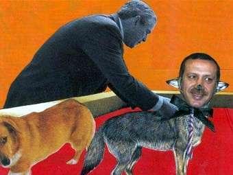 Британский художник оштрафован за карикатуру на премьер-министра Турции