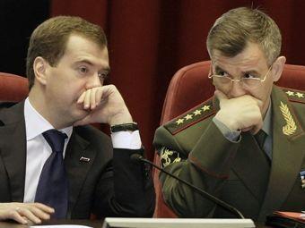 Дмитрий Медведев и Рашид Нургалиев. Фото ©AFP