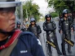 В Бангкок для участия в акции протеста прибыли десятки тысяч оппозиционеров