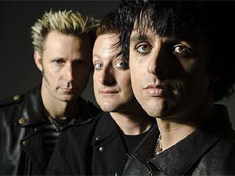 Green Day. Фото с официального сайта группы
