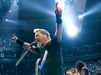 Фронтмен Metallica Джеймс Хэтфилд. Фото ©AFP
