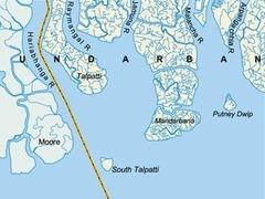 Спорный остров в Бенгальском заливе оказался ниже уровня моря