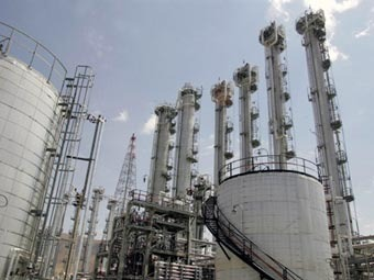 Завод по обогащению урана в Араке. Фото ©AFP