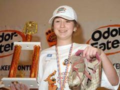 В конкурсе на самые вонючие кроссовки победила одиннадцатилетняя девочка