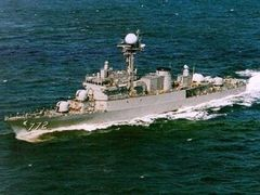 В Желтом море затонул корабль ВМС Южной Кореи