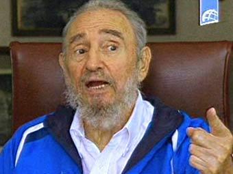 Фидель Кастро. Кадр кубинского телевидения, переданный ©AFP.