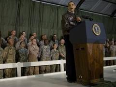 Обама неожиданно прибыл в Афганистан