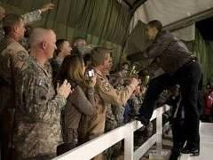 Талибы обстреляли базу ВВС США после визита Обамы