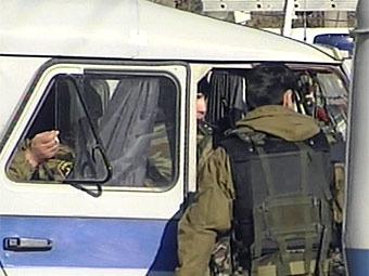 Милиция в Дагестане,  архивный кадр НТВ