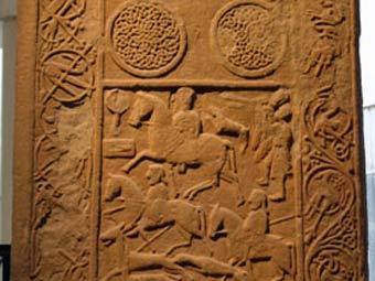 Резьба на пиктском камне. Фото авторов исследования