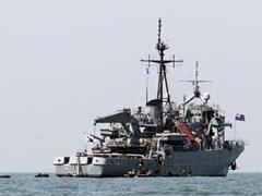 Прекращены поиски моряков с затонувшего корейского корвета