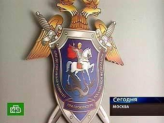Эмблема СКП РФ. Кадр телеканала НТВ