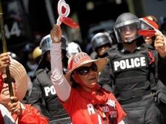 Таиландские оппозиционеры попытались восстановить вещание своего телеканала
