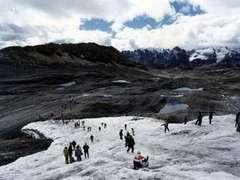 В Перу из-за обрушения в озеро ледника пострадали 50 человек
