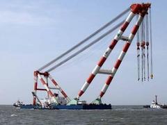 В Южной Корее подняли корму  затонувшего корабля