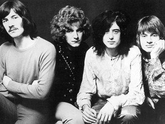 Led Zeppelin. Фото с сайта коллектива