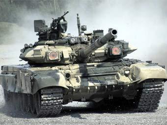 """Т-90. Фото пресс-службы """"Уралвагонзавода"""""""