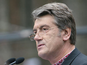 Ющенко позвал украинцев записываться в ряды сопротивления