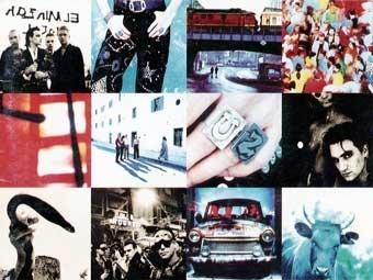 "Фрагмент обложки альбома U2 ""Achtung Baby"""